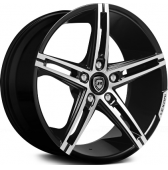 Диски Lexani R3 19x8,5 5x114,3 Black/Machined купить