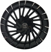 Диски Lexani Wraith 22x9 5x150 Black/Machined TIP купить