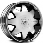 Диски Lexani LX2 20x9 5x150 Black/Machined/Chrome Lip купить